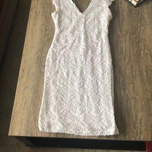 Lottie Moss Dresses - White lace dress
